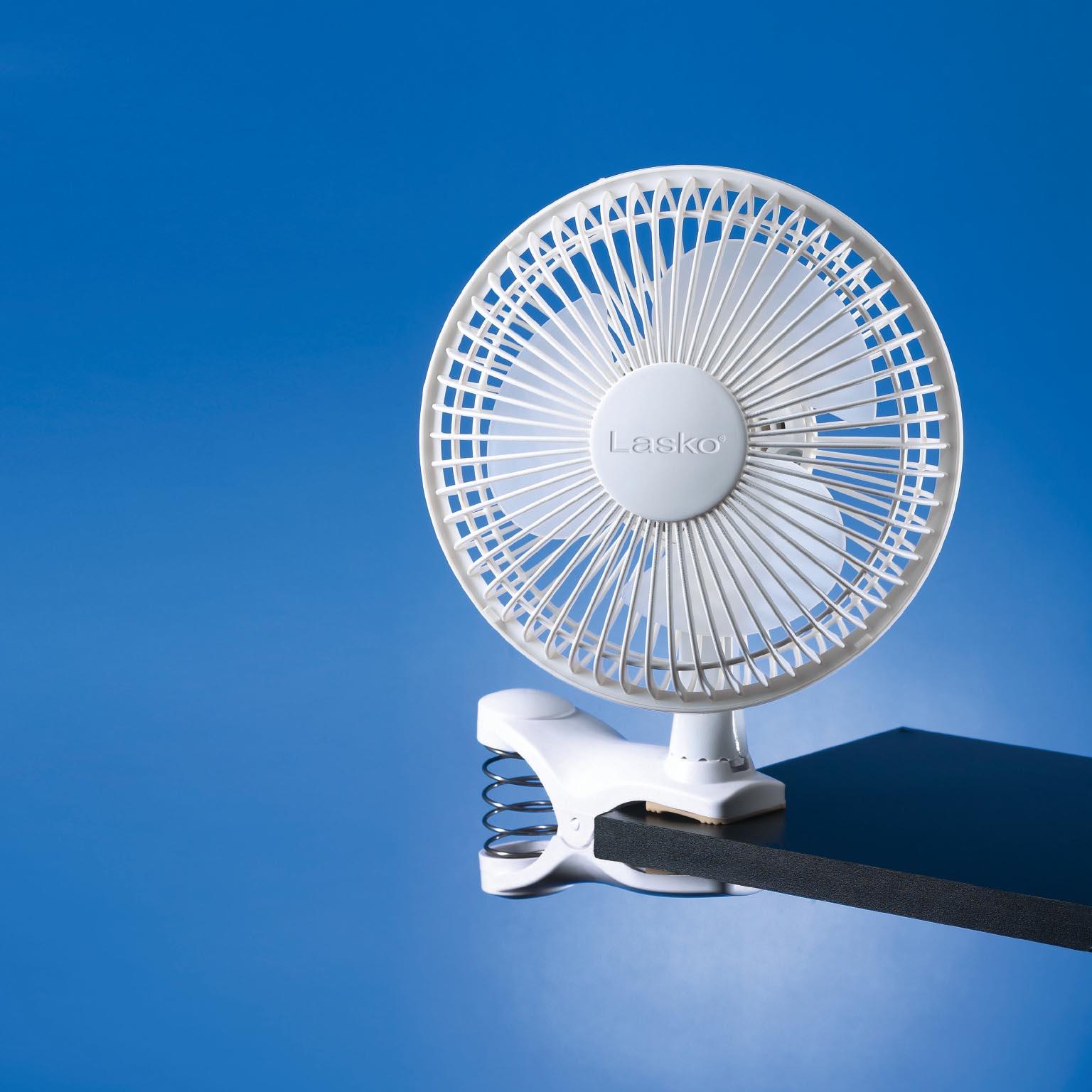 Fan Clip On : Lasko inch speed portable home office personal clip on