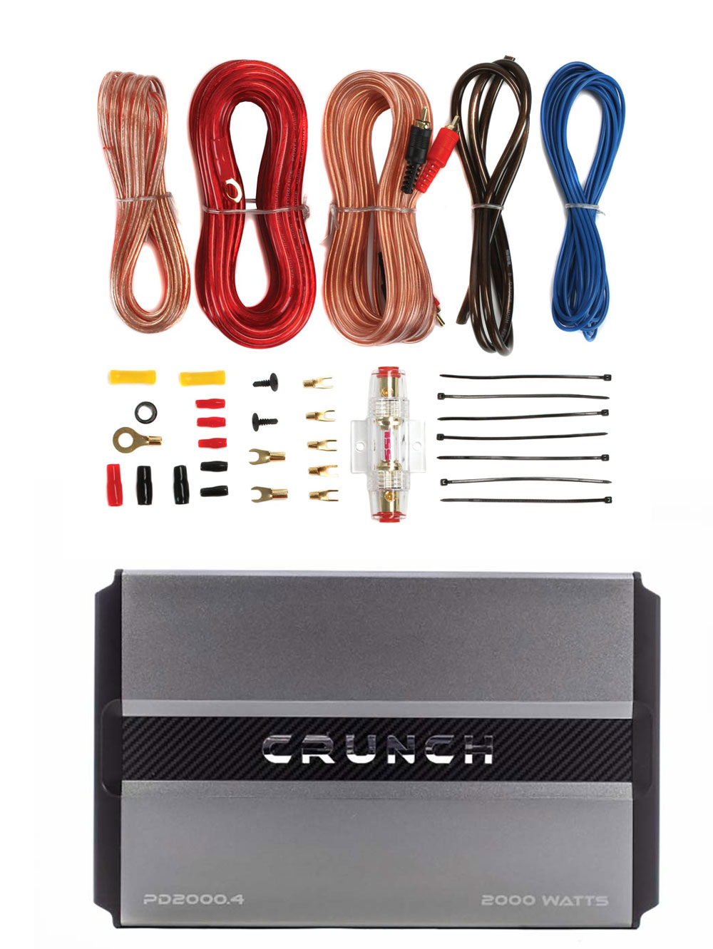 4 Channel Car Amplifier Wiring Kit Solutions Dna Gauge Ch 1200w Ak44 Crunch Power Drive Max Soundstorm 8 Amp