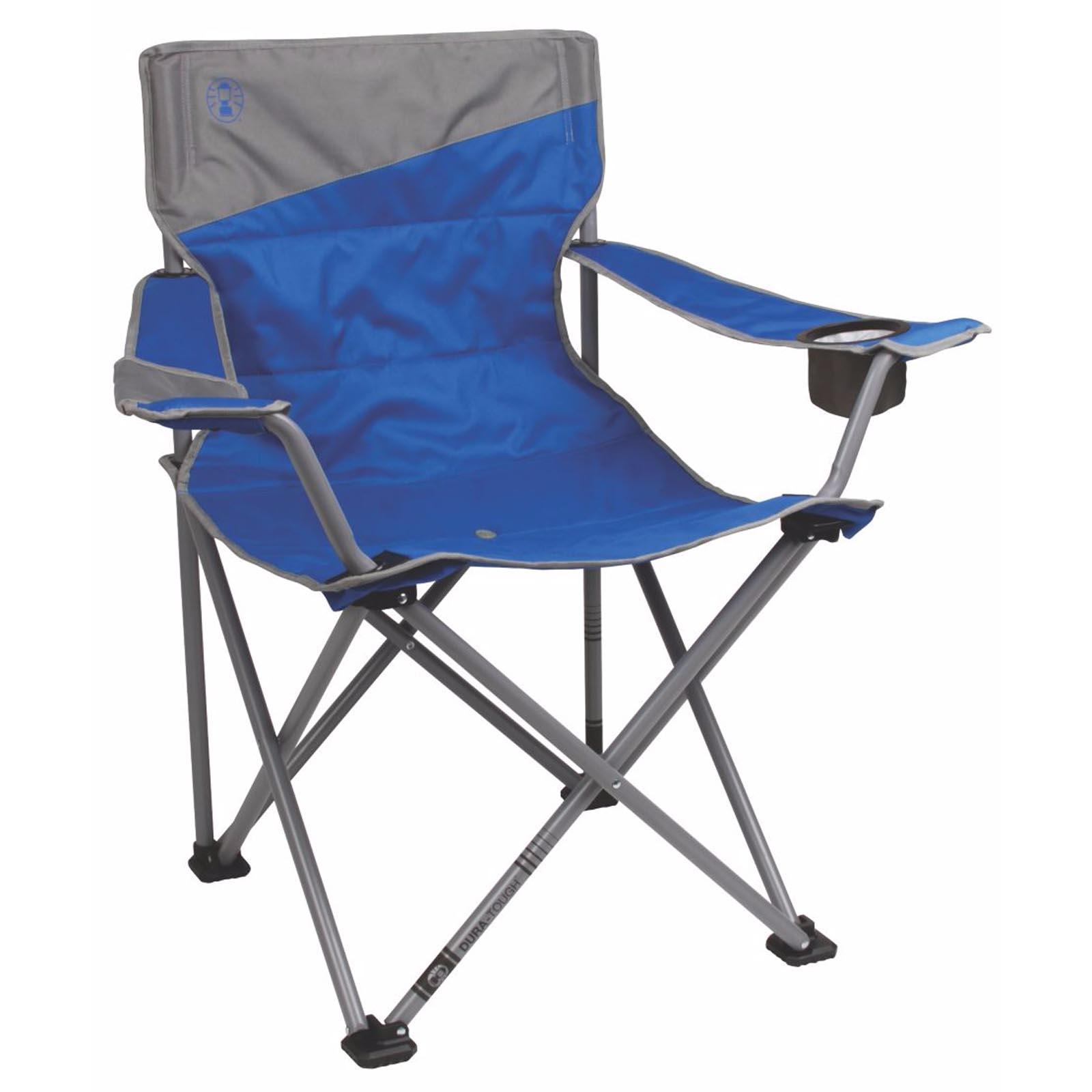 2 Coleman Camping Outdoor Beach Folding Big N Tall
