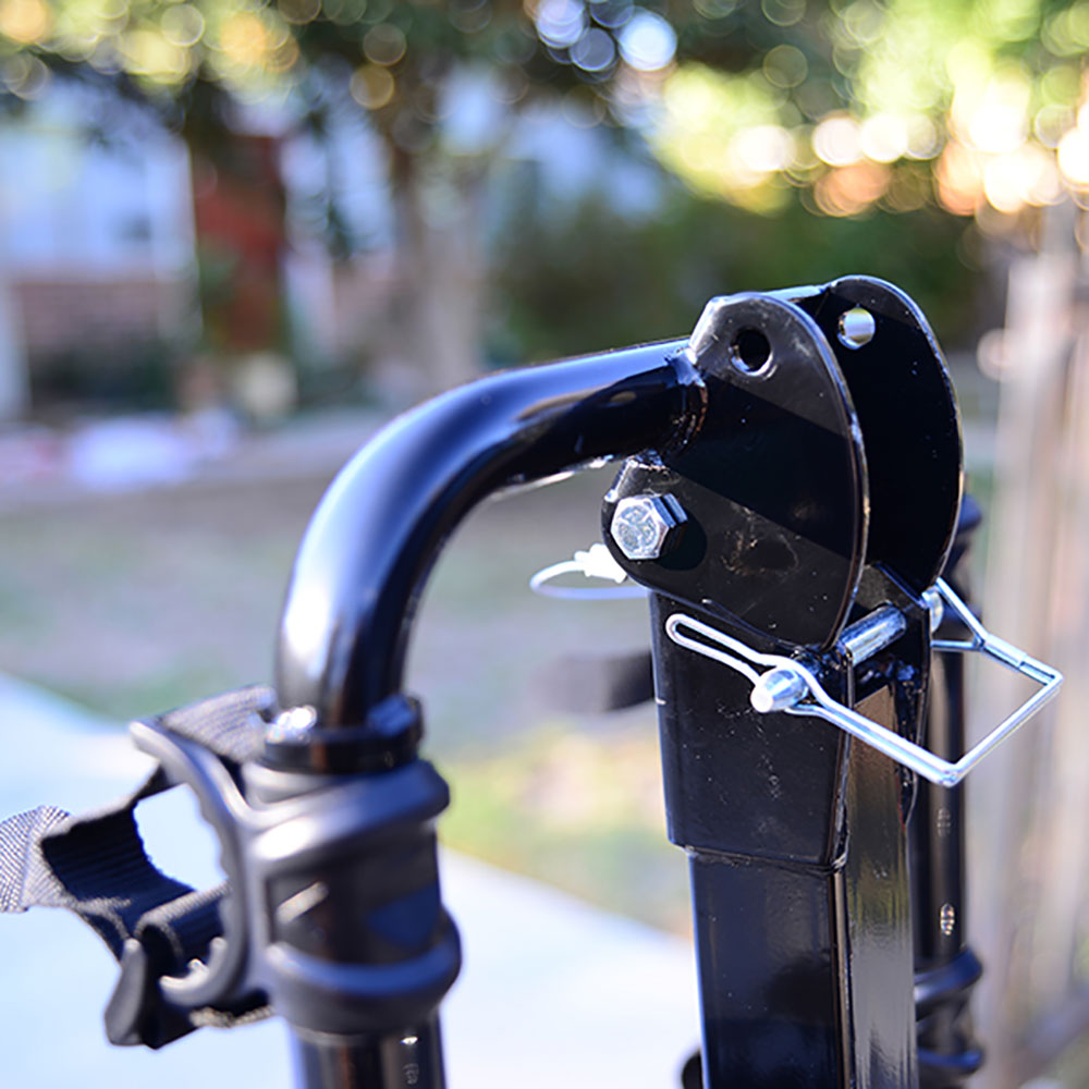 Allen Sports Deluxe 4 Bike Storage Mount Carrier Rack Hitch for Car Back Bumper