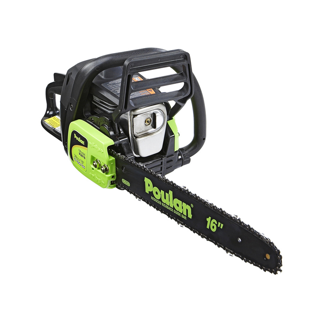 Poulan p3816 16 38cc 2 cycle gas powered chainsaw certified poulan p3816 16 38cc 2 cycle gas powered chainsaw certified refurbished greentooth Gallery