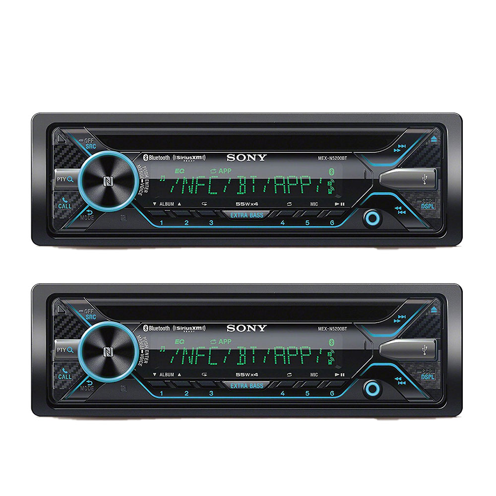 Sony Car Audio Single Din Cd Player Stereo Receiver With