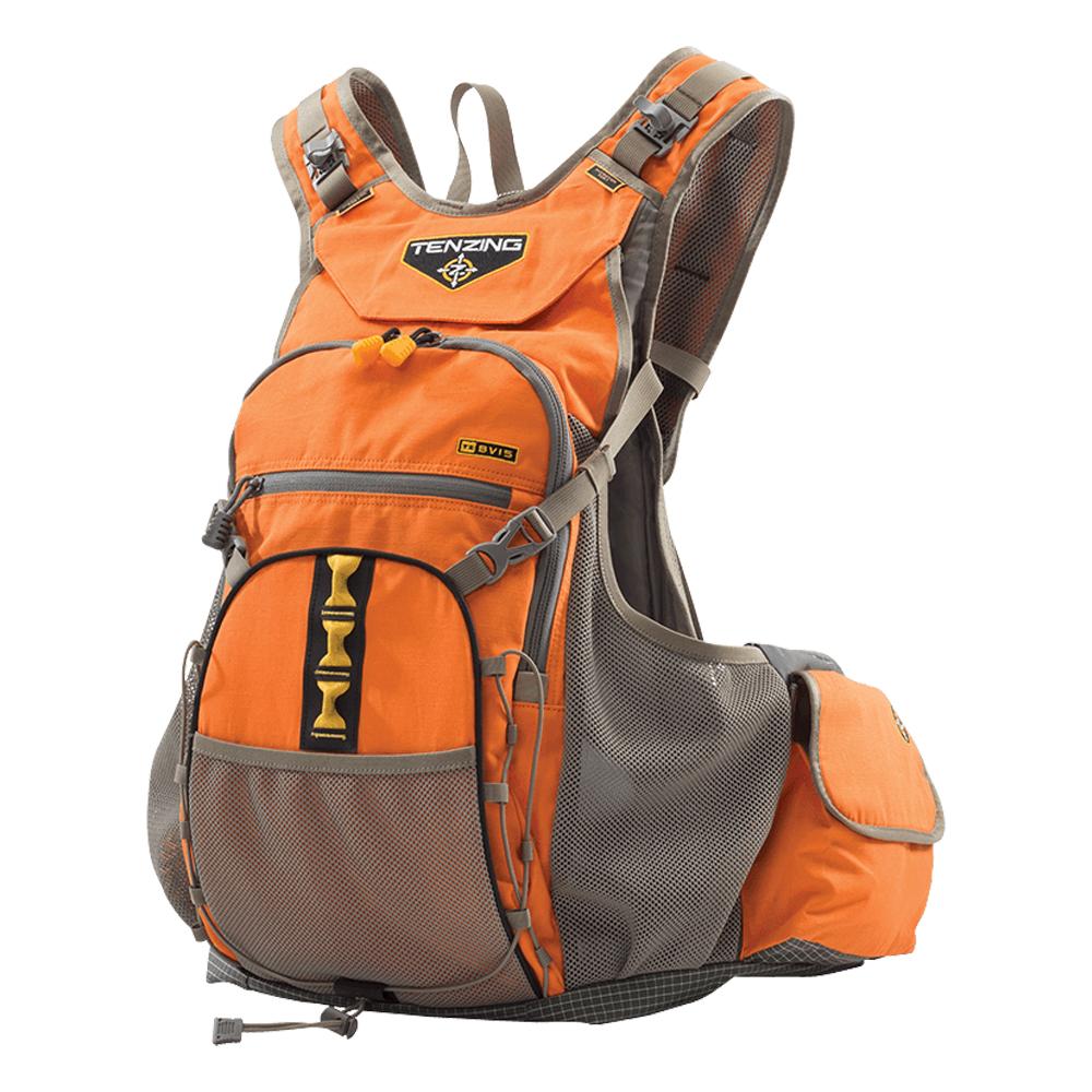 458cc503 Details about Tenzing TZ BV16 Blaze Orange Upland Bird Hunting Vest  Backpack Pack, XL/XXL