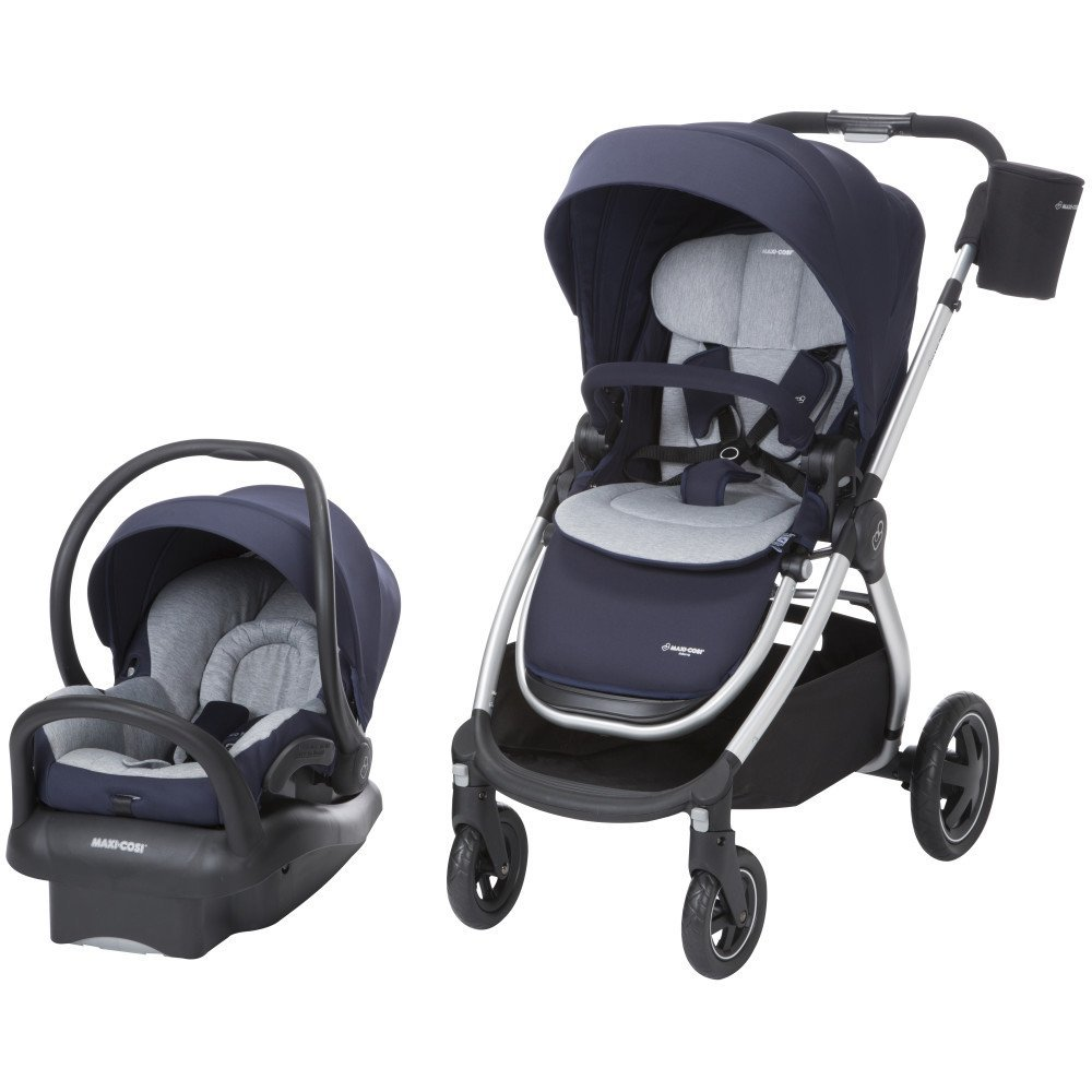 maxi cosi adorra stroller and mico max 30 car seat travel system brilliant navy 884392612306 ebay. Black Bedroom Furniture Sets. Home Design Ideas