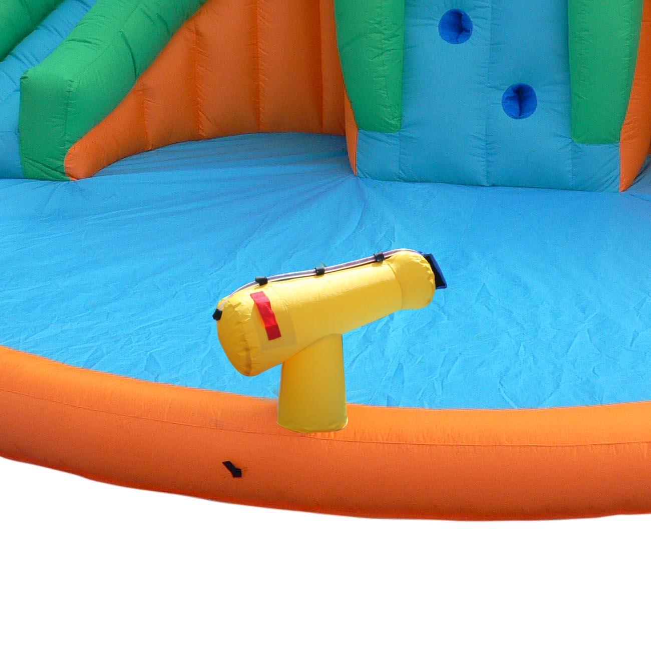 Pool Water Splash: Magic Time Twin Peaks Kids Inflatable Splash Pool Backyard