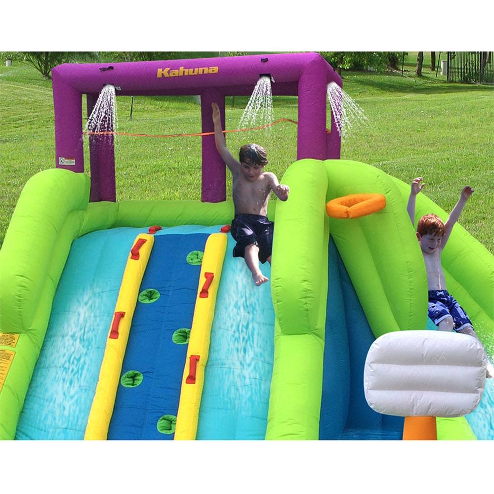 Kahuna 90360 Triple Blast Outdoor Inflatable Splash Pool