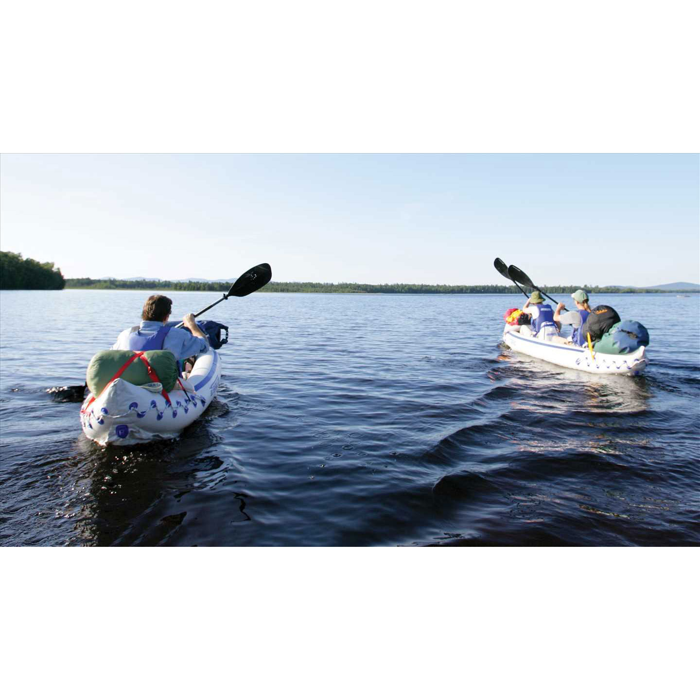 Sea eagle 370 pro 3 person blow up inflatable kayak for Blow up fishing boat
