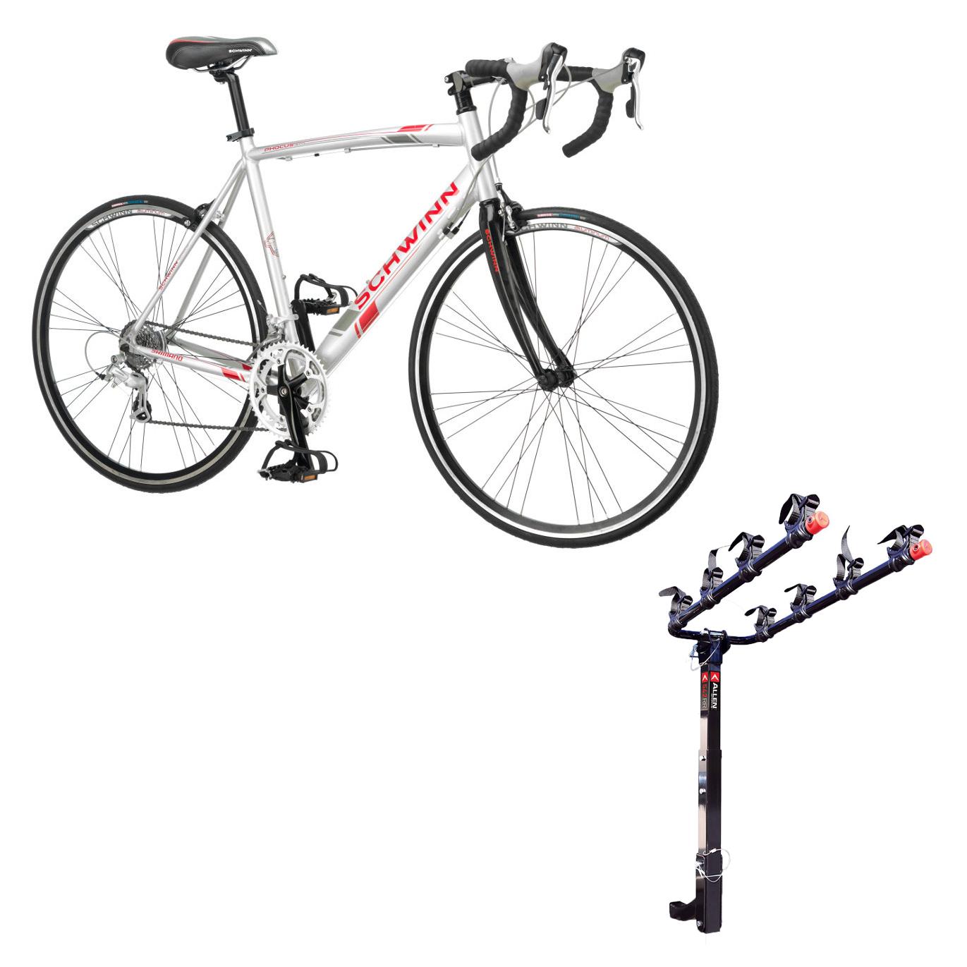ed2956a07d8 Schwinn 700C Phocus 1600 Womens Drop Bar Road Bicycle & 4 Bike Car ...