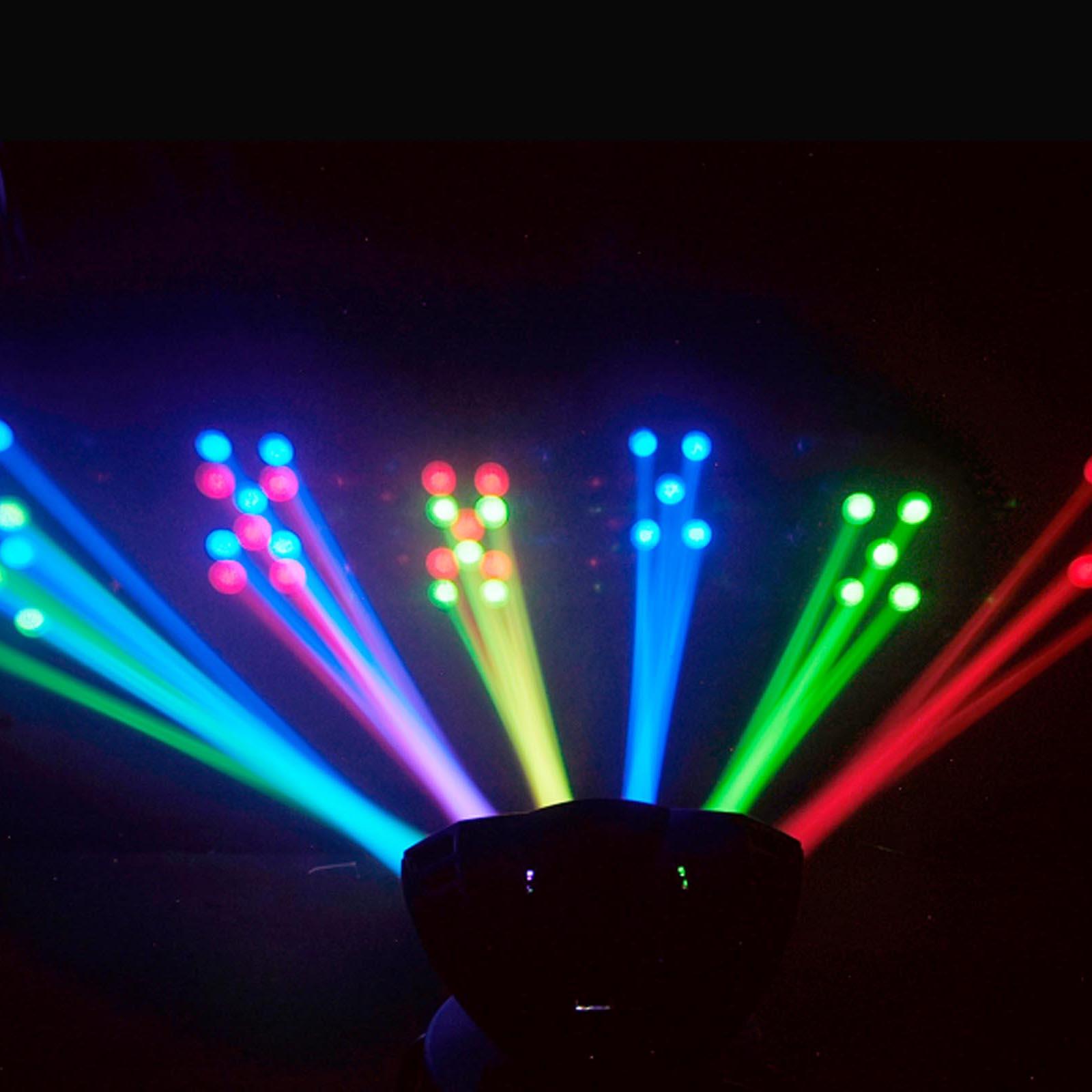 chauvet dj derby x dmx 512 multi colored led rgb strobe dj lighting effect 781462202910 ebay. Black Bedroom Furniture Sets. Home Design Ideas