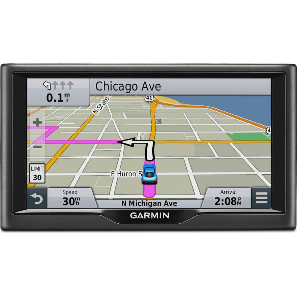 Car Gps Navigation System : Garmin nuvi lm inch vehicle gps navigation system