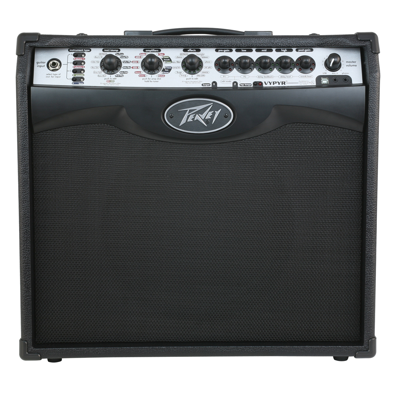 peavey vypyr vip 2 modeling instrument guitar bass 40 watt 12 amplifier amp ebay. Black Bedroom Furniture Sets. Home Design Ideas