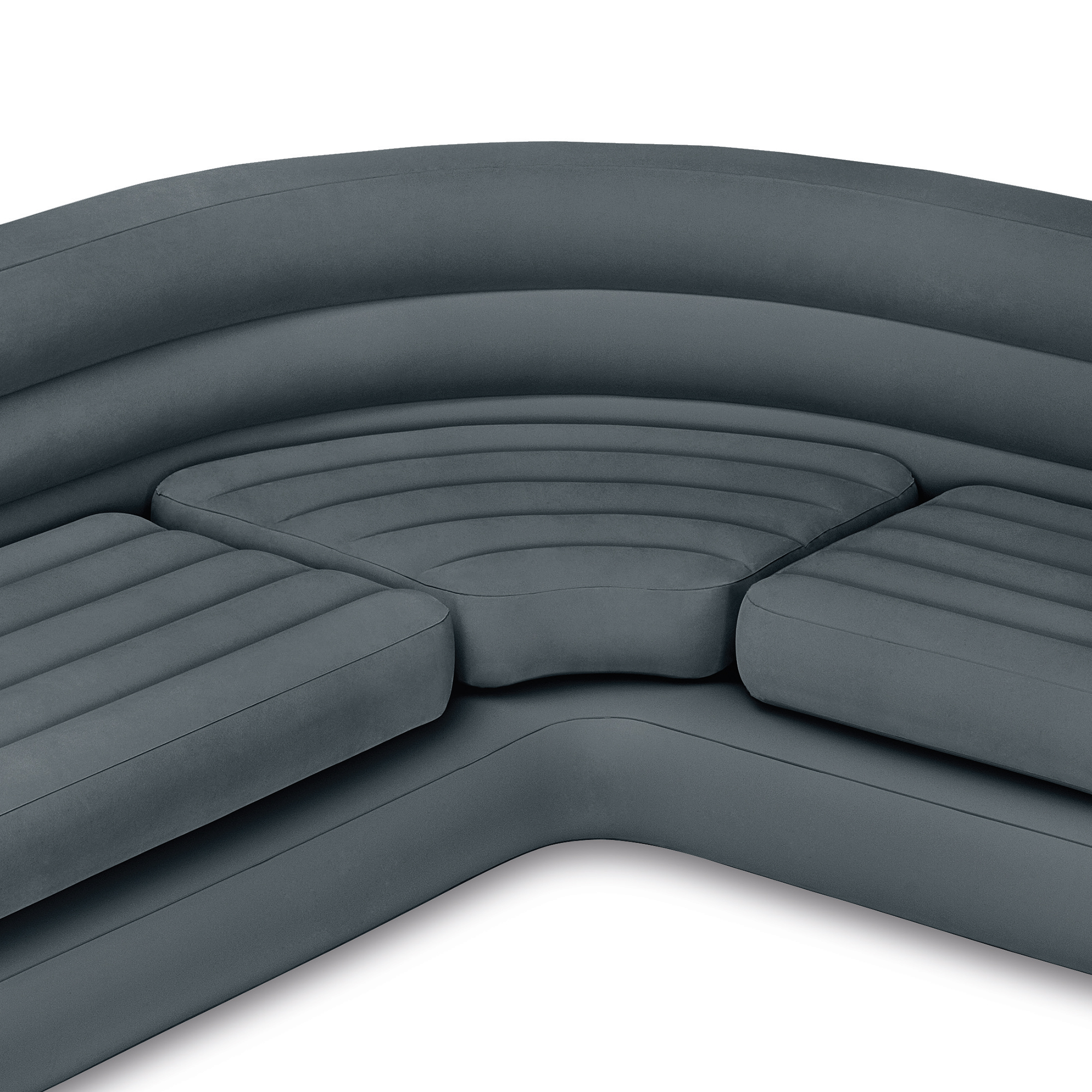 Inflatable Sleeper Sofa Bed: Intex Inflatable Corner Couch Sectional Sofa And Pull-Out