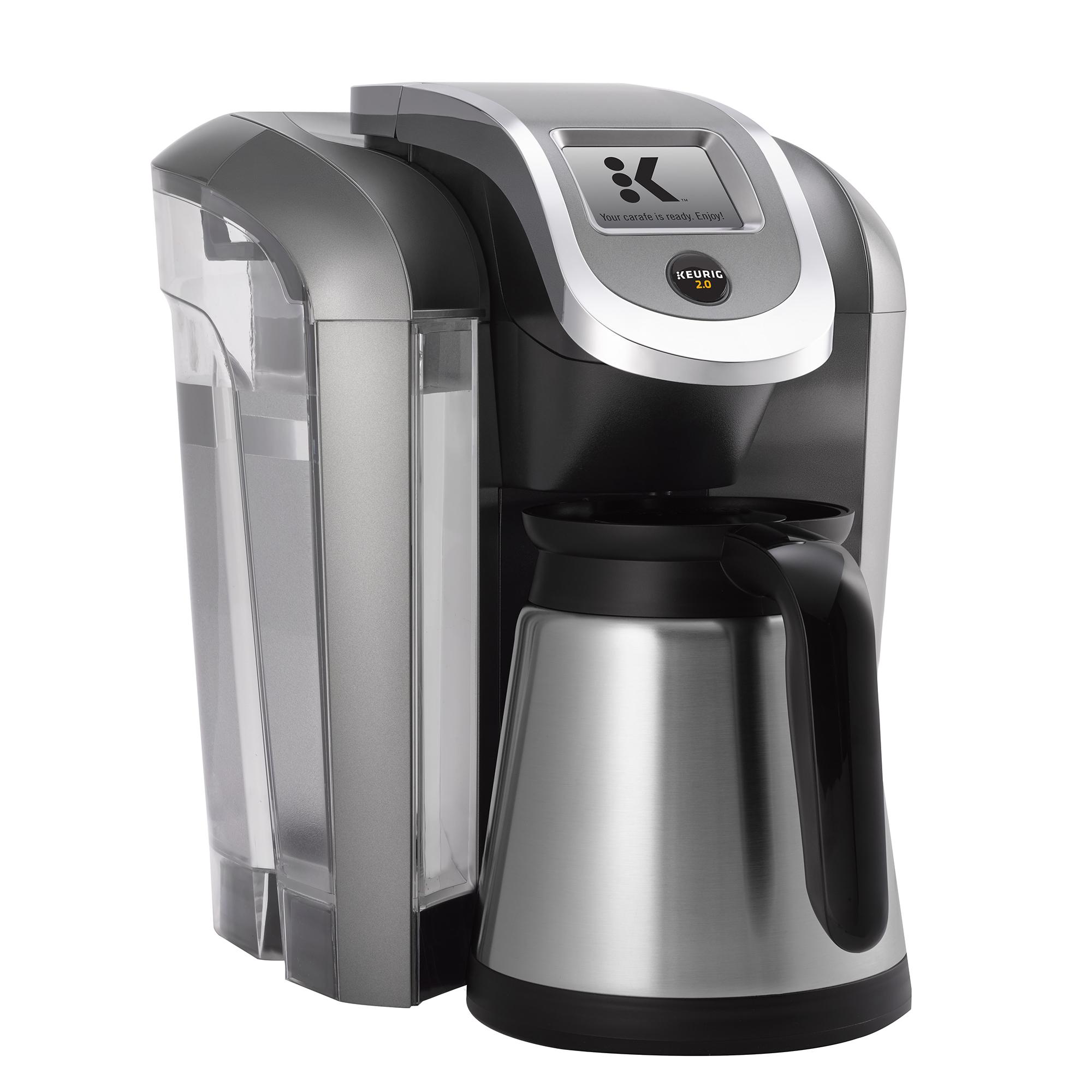 keurig k500 2 0 coffee maker brewing system with carafe certified refurbished ebay. Black Bedroom Furniture Sets. Home Design Ideas