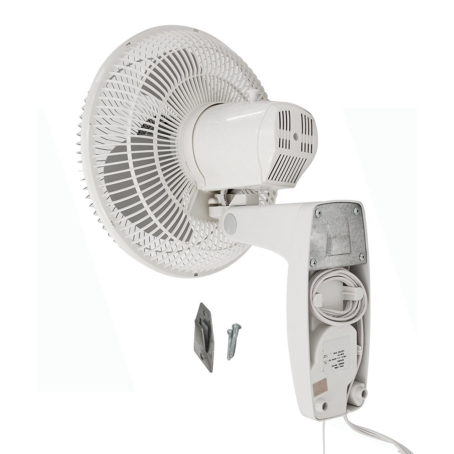 Air king 16 inch commercial grade oscillating 3 blade wall for 1 20 hp electric motor