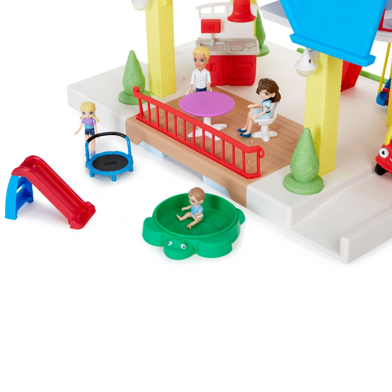 Little Tikes Kids Children Tikes Place Play Dollhouse w Family