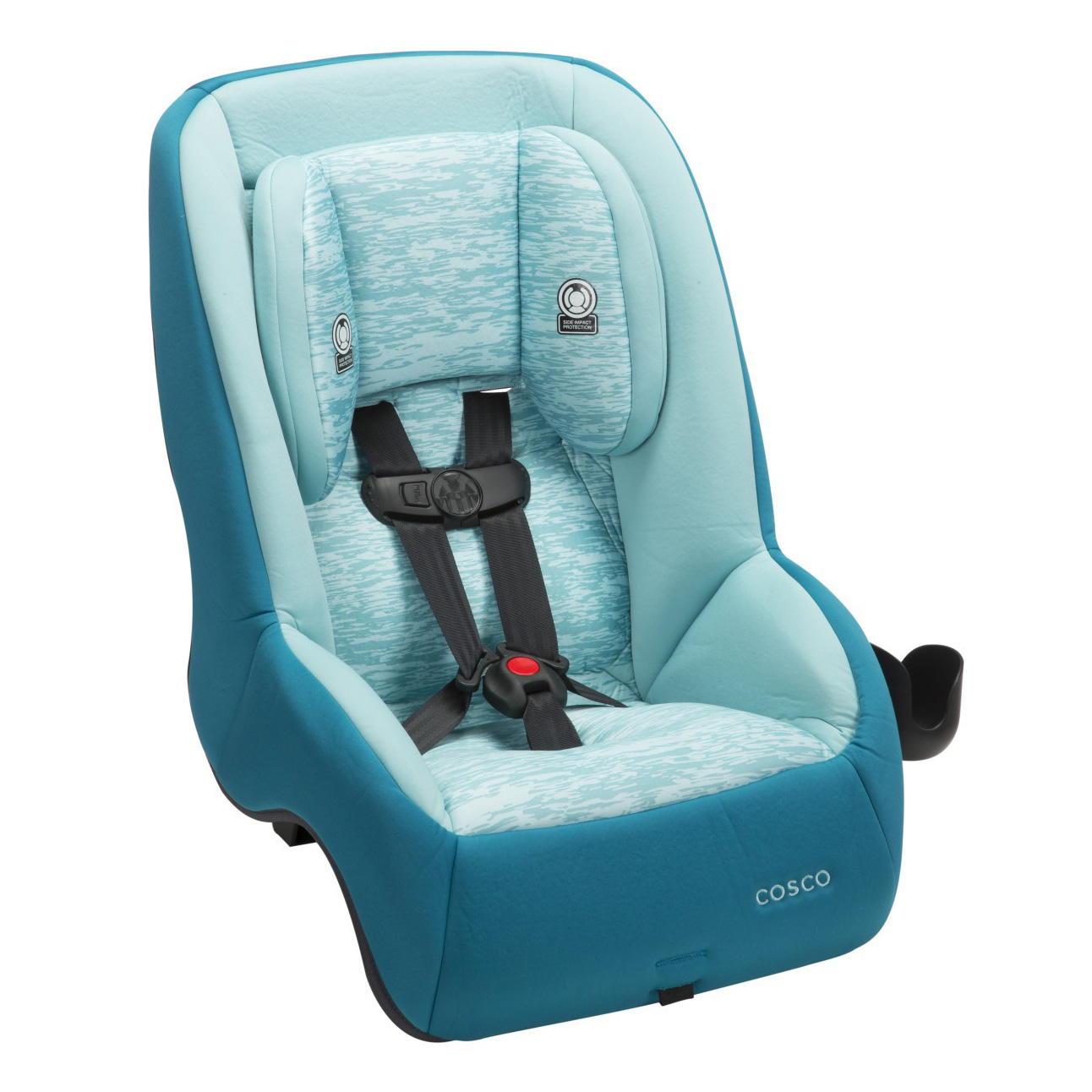 cosco mighty fit 65 dx 65 lbs max convertible car seat heather mist cc173eeq ebay. Black Bedroom Furniture Sets. Home Design Ideas