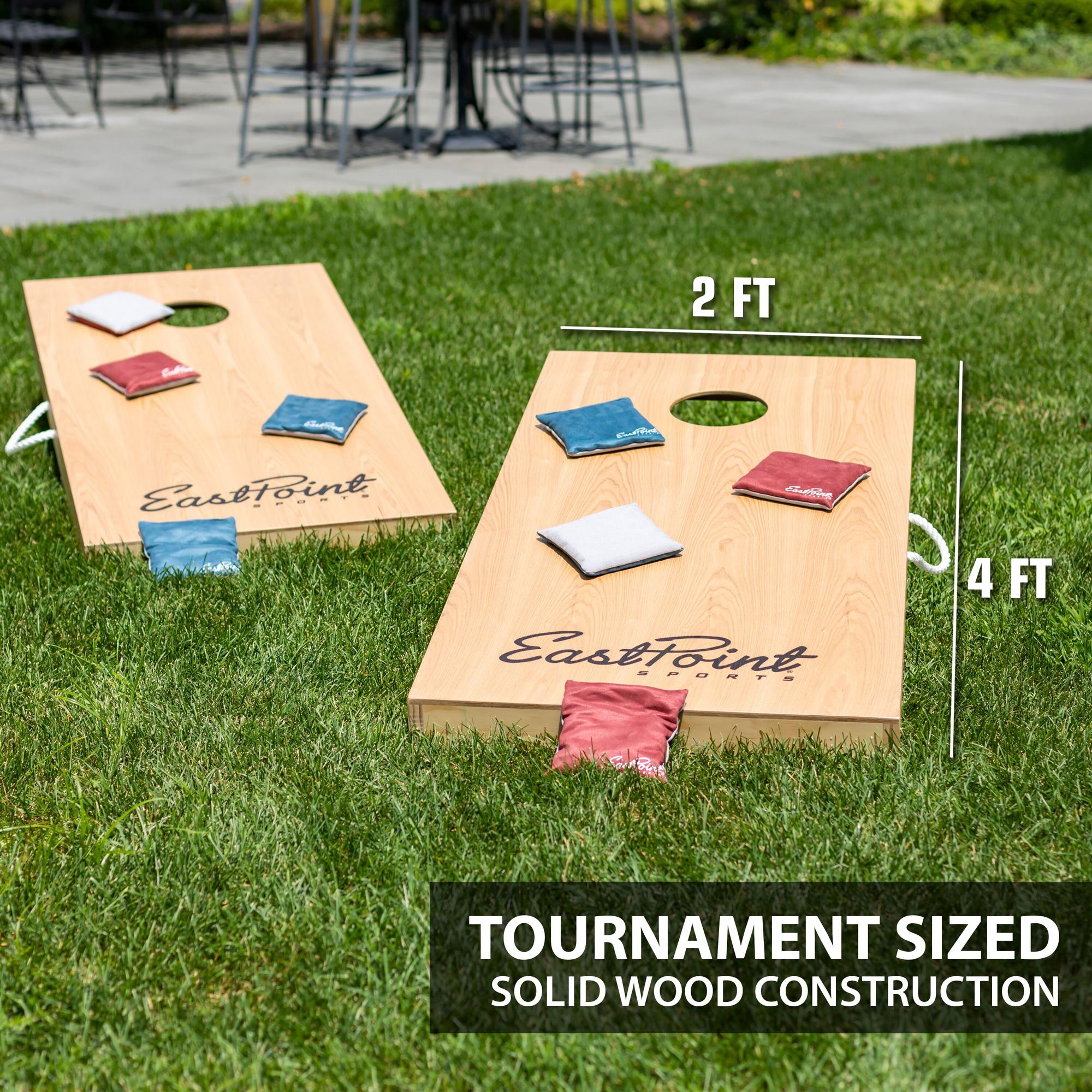 Eastpoint Sports 1-1-16947-DS Tournament Size Legacy Cornhole Beanbag Toss  Set