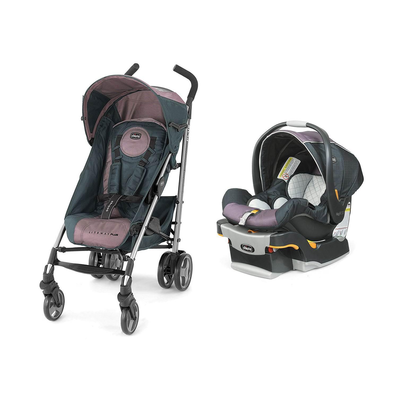 Chicco Liteway Plus Stroller Keyfit 30 Magic Car Seat Travel System Purple Lyra Chi 0407931731 Chi 0406147231