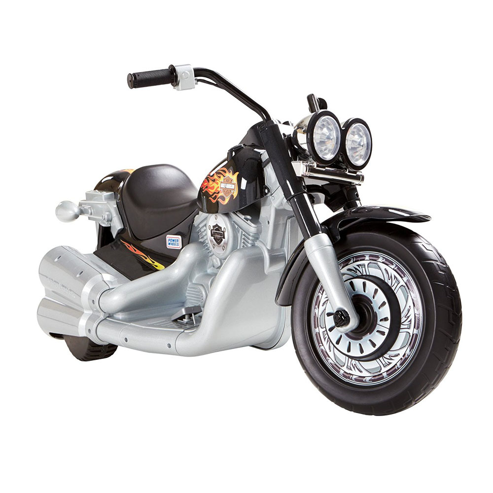 Harley Davidson Toys : Fisher price power wheels mph harley davidson toy