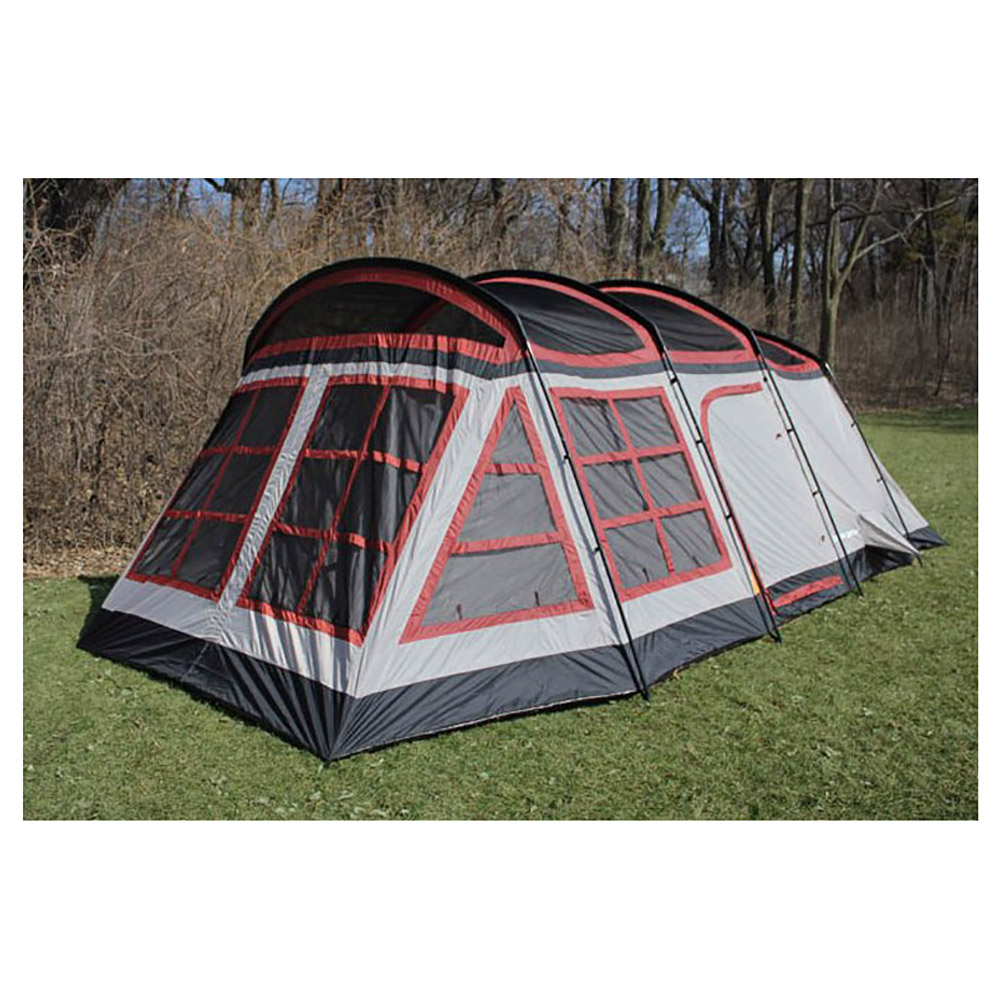 Tahoe gear glacier 12 14 person 3 season family cabin tent for What is a tent cabin