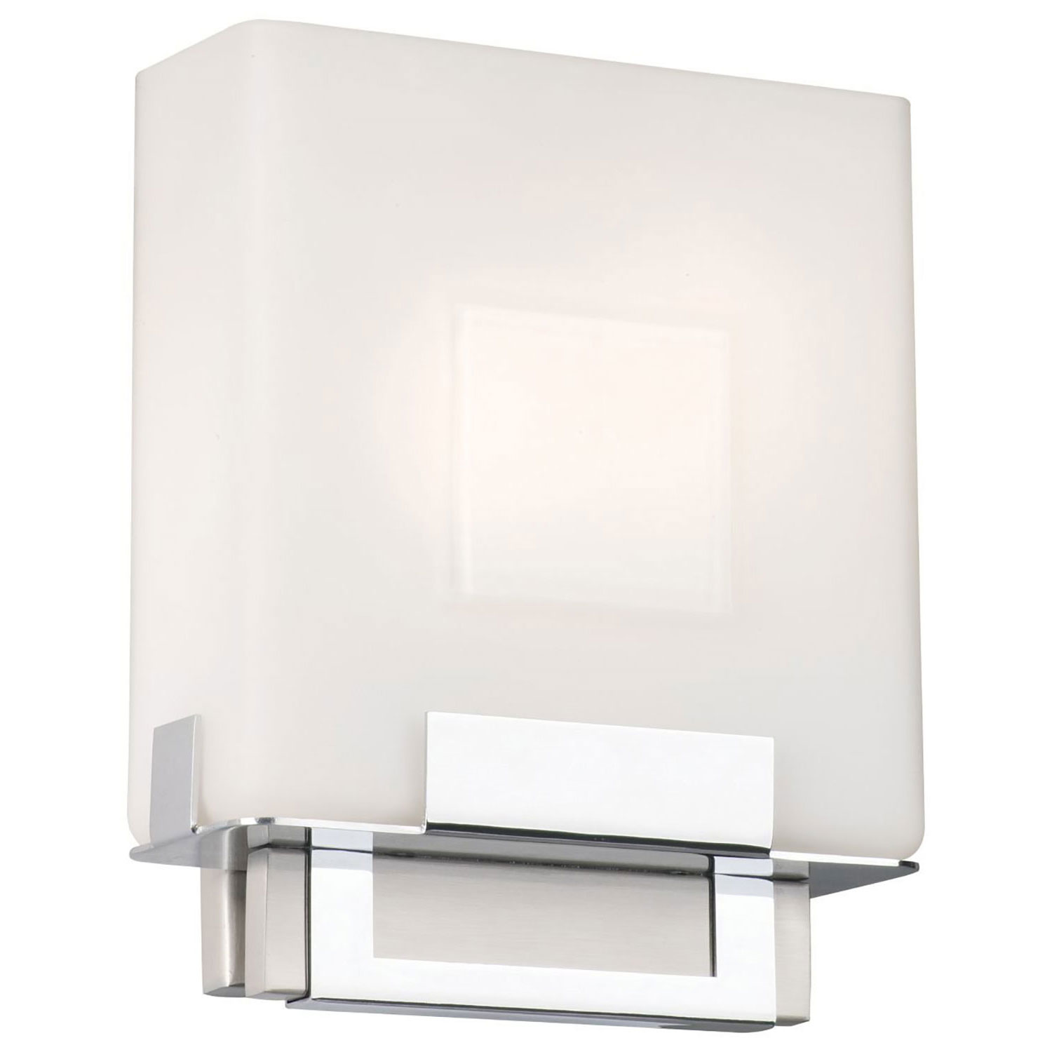 Phillips Forecast Lighting FE Square Bathroom Sconce Light - Square bathroom sconce