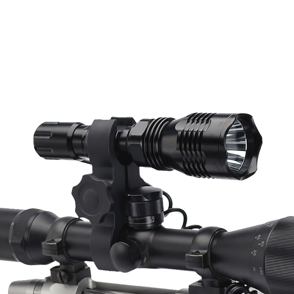 cyclops vb250 rifle scope mounted night hunting led. Black Bedroom Furniture Sets. Home Design Ideas