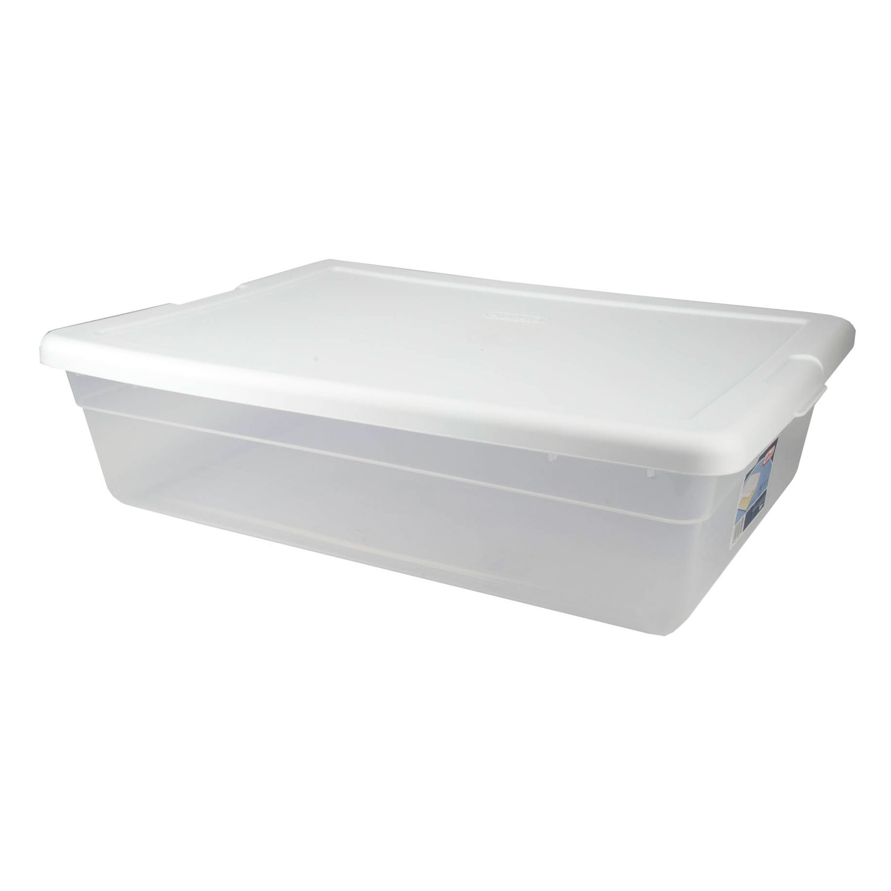 Sterilite 28 Qt Clear Closet/Under Bed Organizer Storage