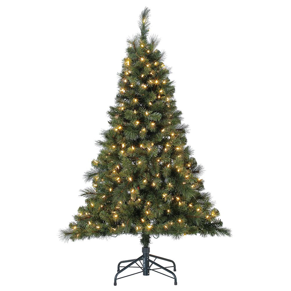 Ebay Christmas Tree: Home Heritage 5' Artificial Cascade Pine Christmas Tree W