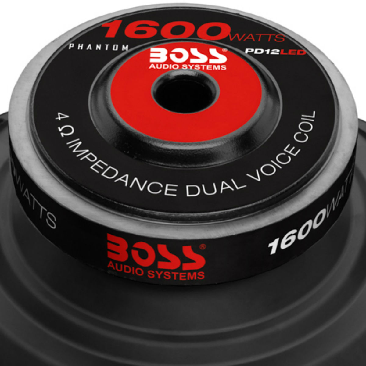 boss audio 12 inch dual voice coil 1600w subwoofer w led. Black Bedroom Furniture Sets. Home Design Ideas