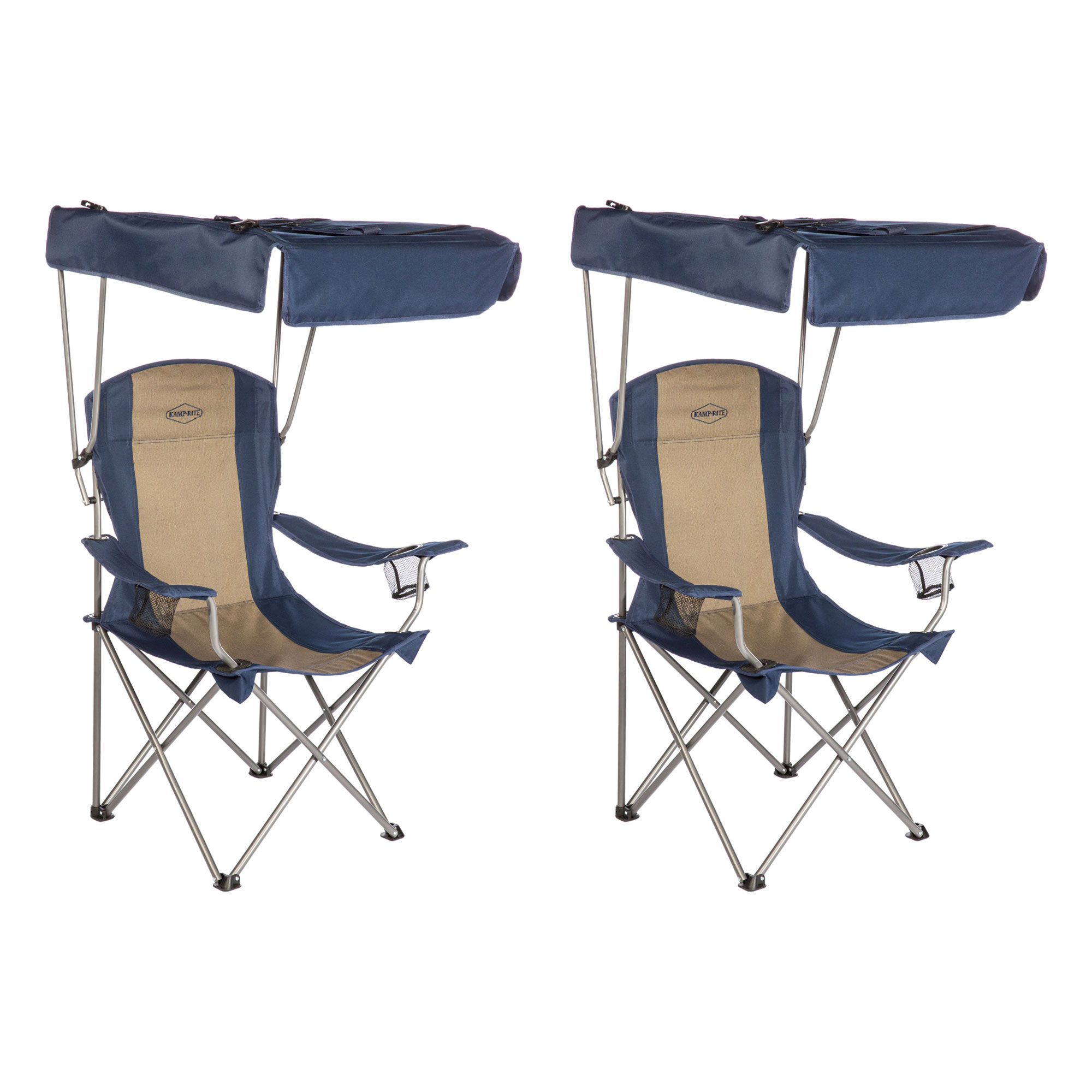 Enjoyable Chairs Kamp Rite Chair With Shade Canopy Cc463 Dailytribune Chair Design For Home Dailytribuneorg