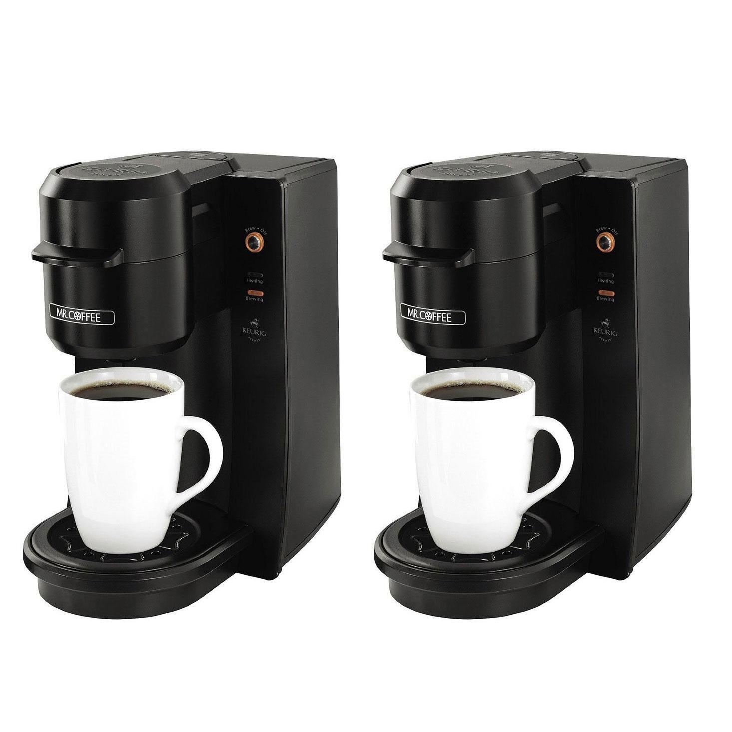 Mr Coffee Single Serve 93 Ounce Black Coffee Maker Brewer Machine