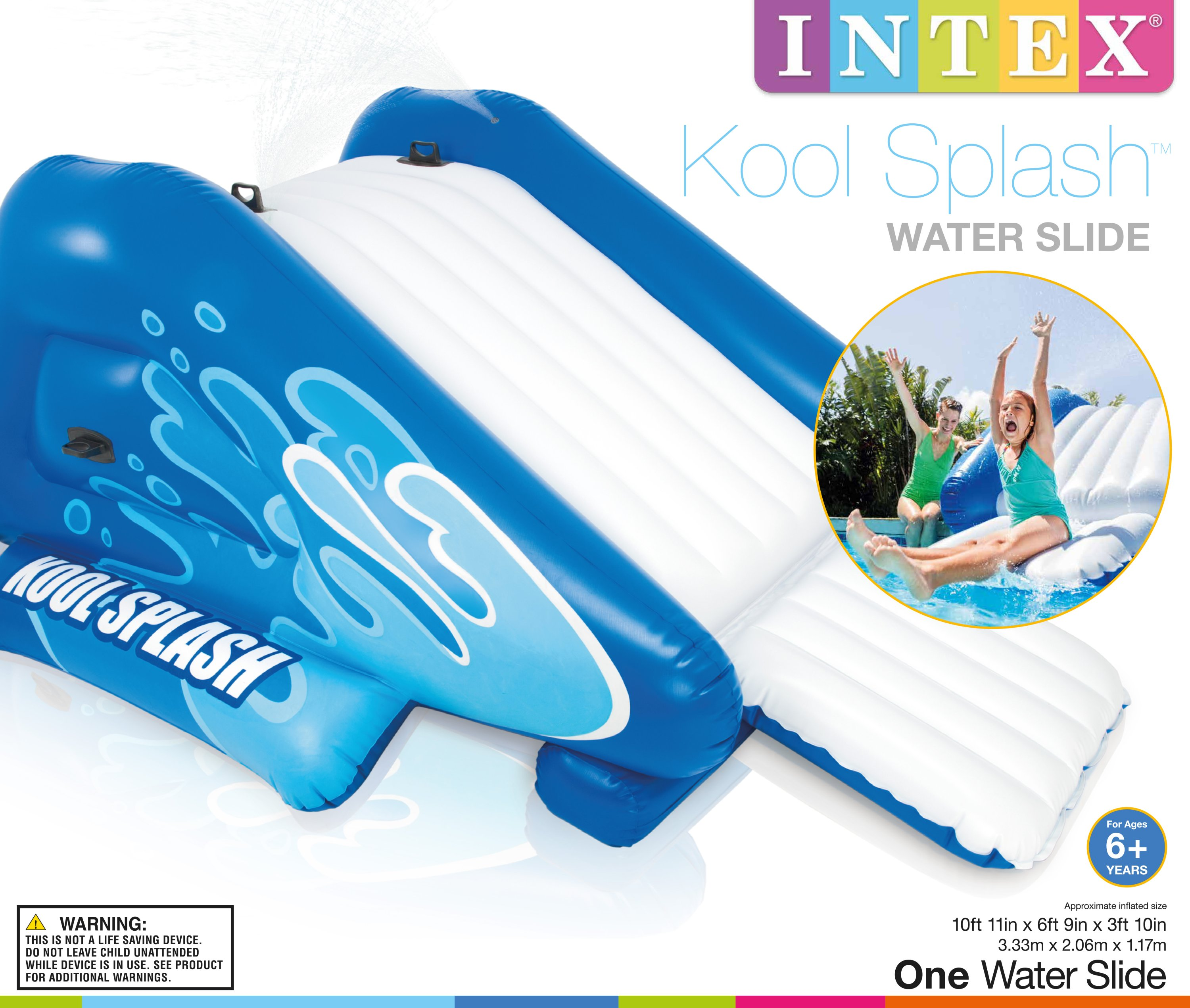 Inflatable Pool Slide Uk: Intex Kool Splash Inflatable Play Center Swimming Pool