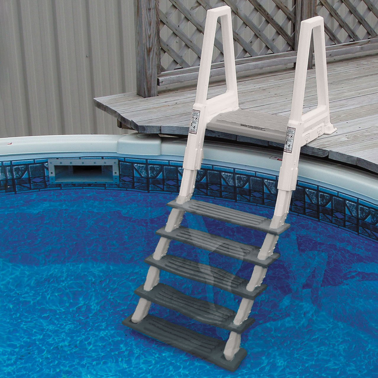 Confer Heavy Duty Above Ground Swimming Pool Ladder 46 56