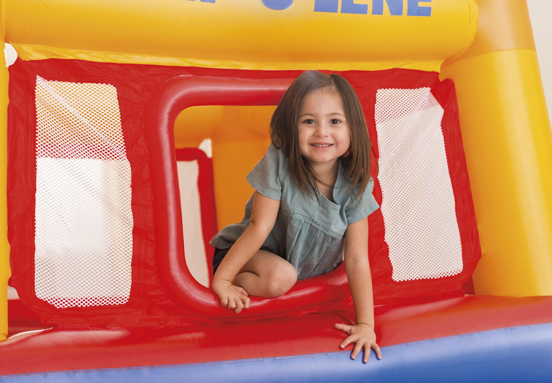 902556ebc Intex Inflatable Jump O Lene Play Ball Pit Playhouse Bounce House ...