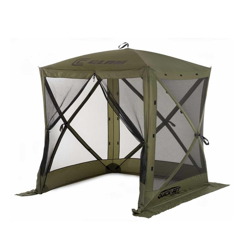 Pop Up Shelter Deck : Clam quick set traveler portable camping outdoor gazebo