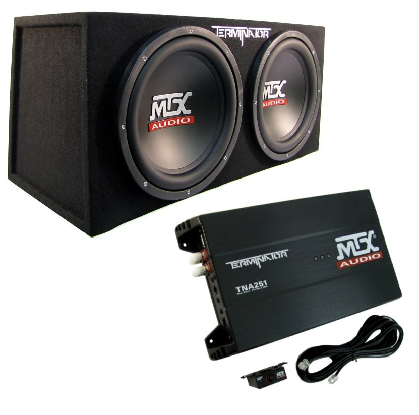 MTX TNP212 Package 12-Inch Subwoofers (Pair) with Box