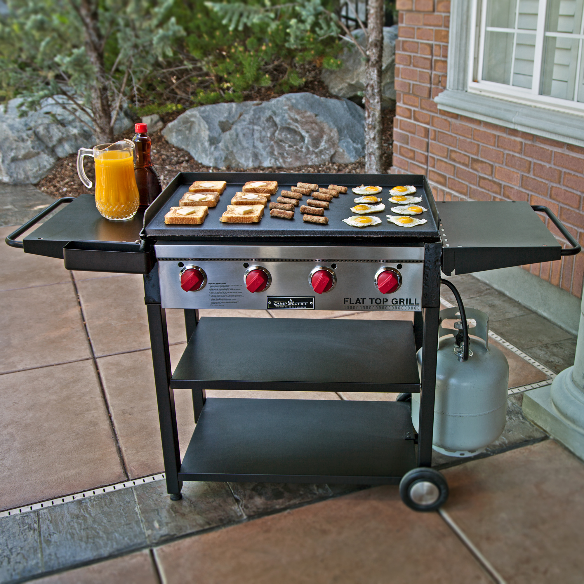 Camp Chef 600 Square Inch Outdoor Propane Gas Flat Top