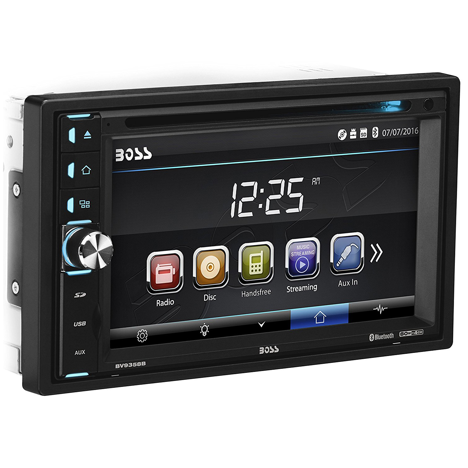 Boss Audio 612ua Multimedia Car Stereo: Boss Audio Double DIN Multimedia Player With Video And