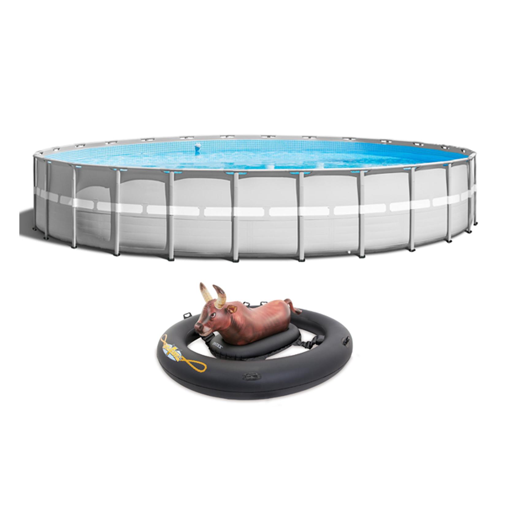 Intex 26 X 52 Quot Ultra Frame Pool W Pump Inflatabull Bull