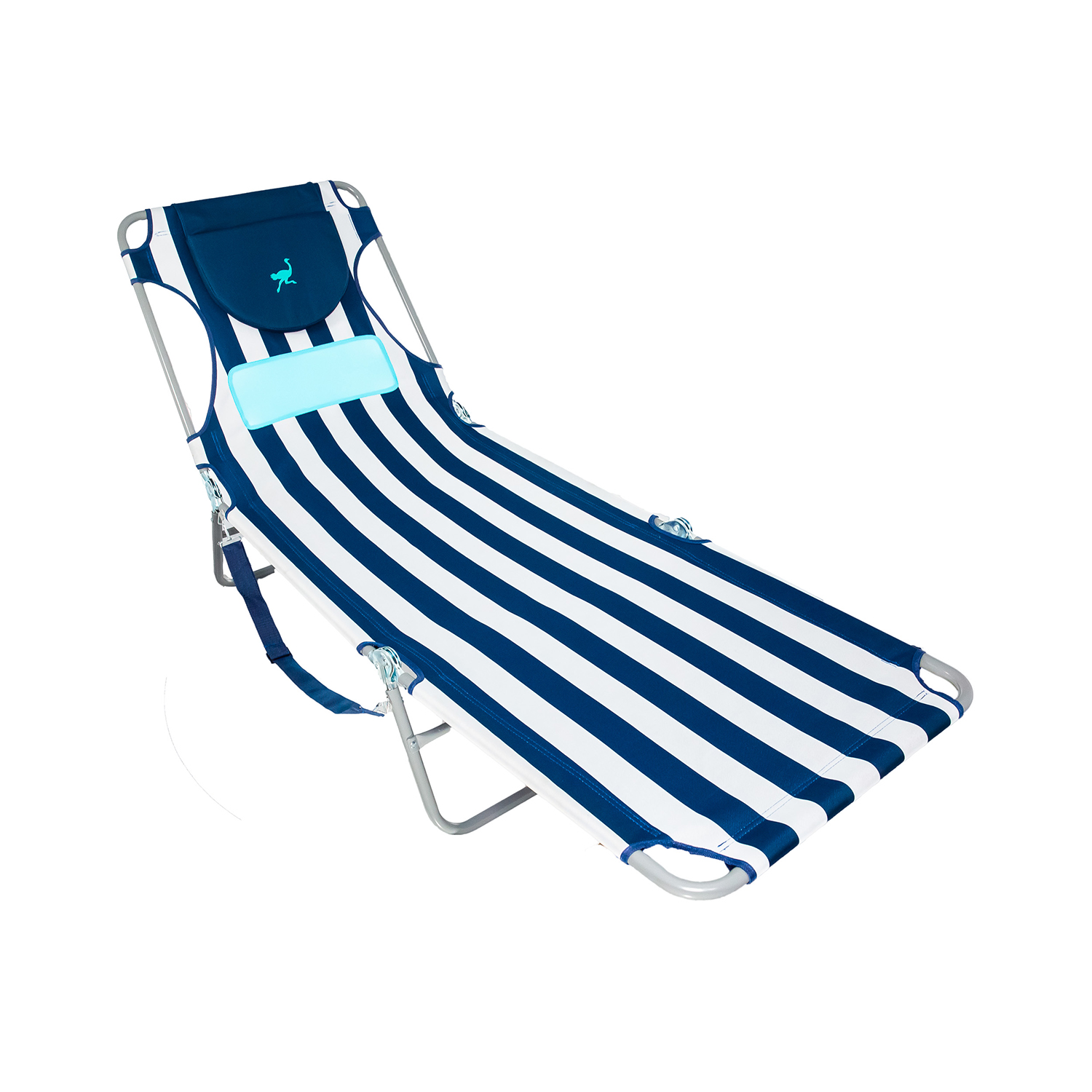 Ostrich Comfort Lounger Face Down Sunbathing Chaise Lounge