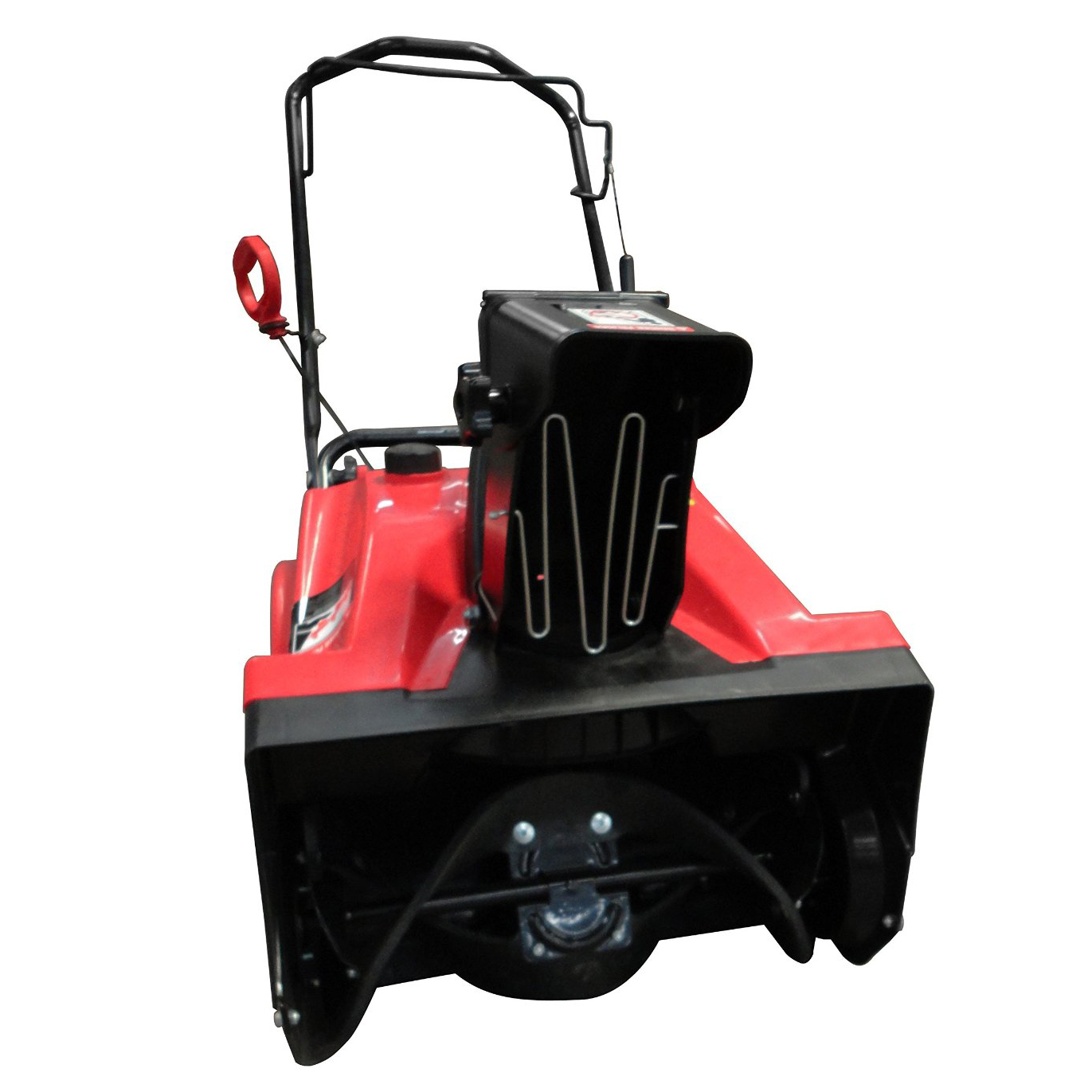gas snow blower warrior tools gas 4 cycle single stage 20 quot snow thrower 10910