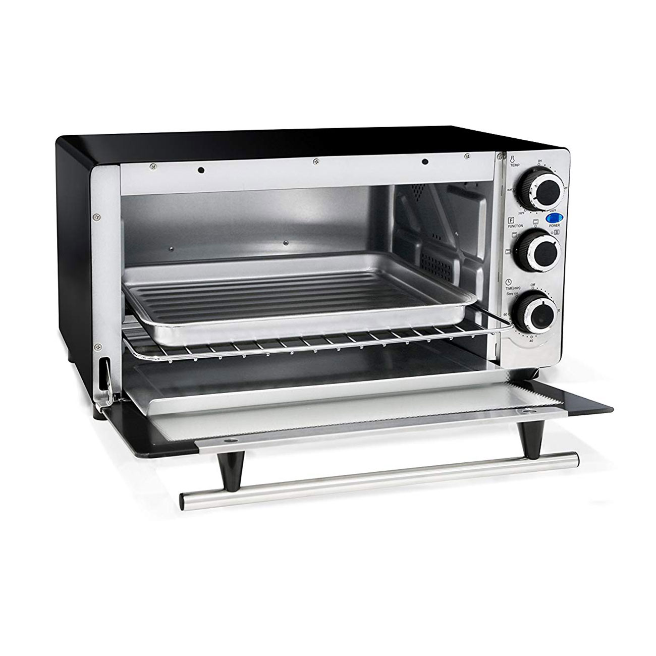 Details about MaxiMatic Elite Platinum 6 Slice Stainless Steel Convection  Toaster Oven Broiler