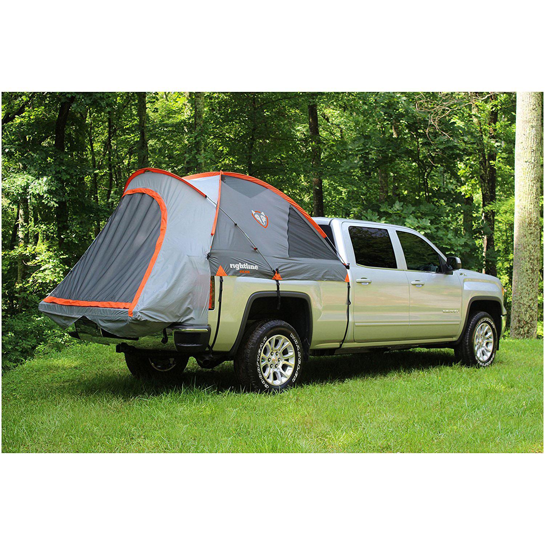 ac7b3bdaac9 Rightline Gear 110710 Easy Setup 2 Person Full Size Long Truck Bed Tent, 8  Feet
