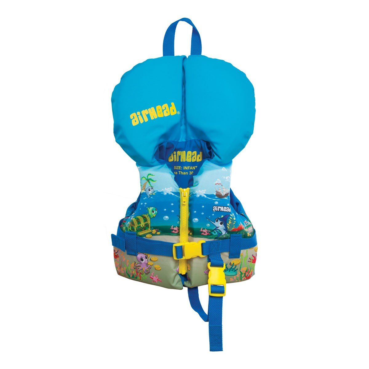 Airhead Ocean Treasure Childrens 15 30 Lb Infant Zippered