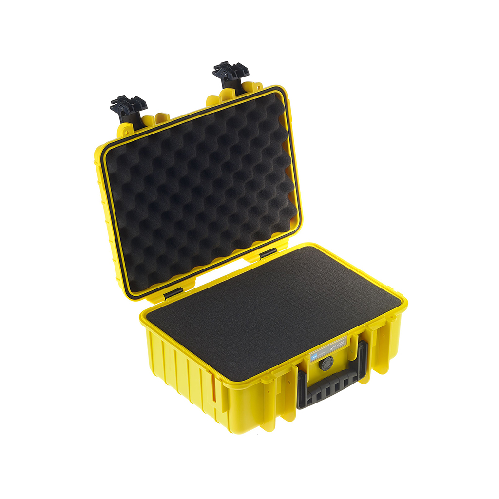 B W International 4000 Y Rpd Hard Plastic Outdoor Case With Removable Rpd Insert