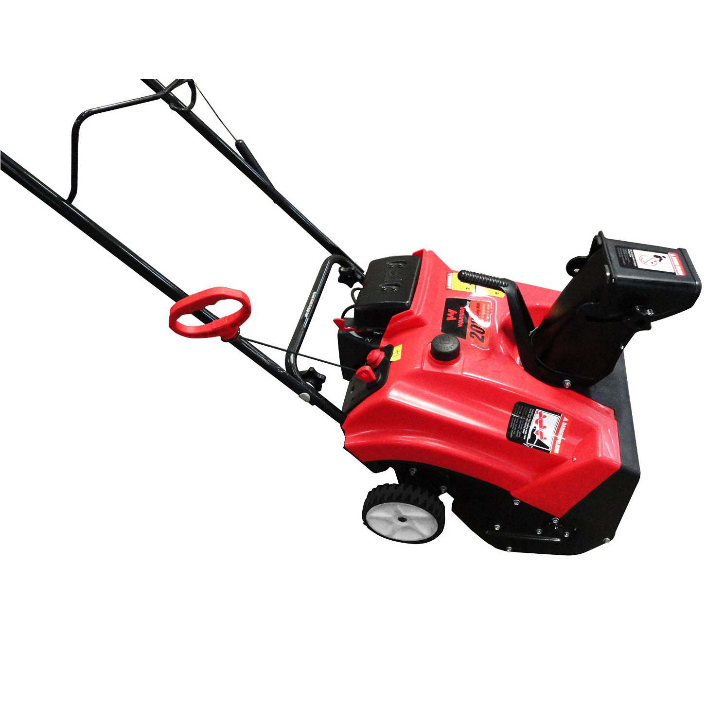 Gas Powered Snow Blowers : Warrior tools gas cycle single stage quot snow thrower