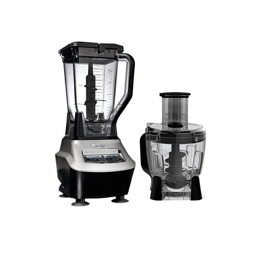 Ninja mega kitchen 1500w food processor blender package for Kitchen perfected blender