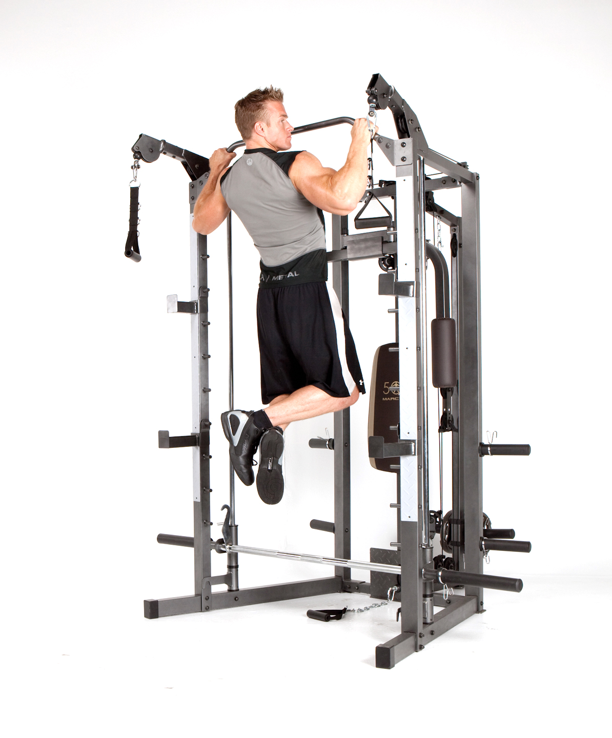 Marcy Combo Smith Heavy-Duty Total Body Strength Home Gym
