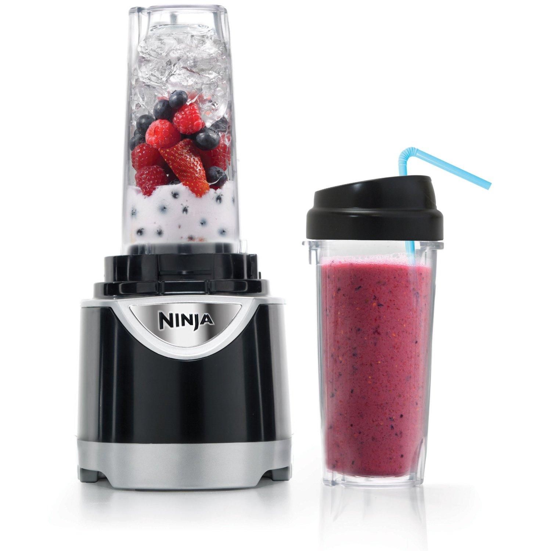 Ninja Kitchen System Pulse Blender w/3 Nutri Cups & 40oz Pitcher ...