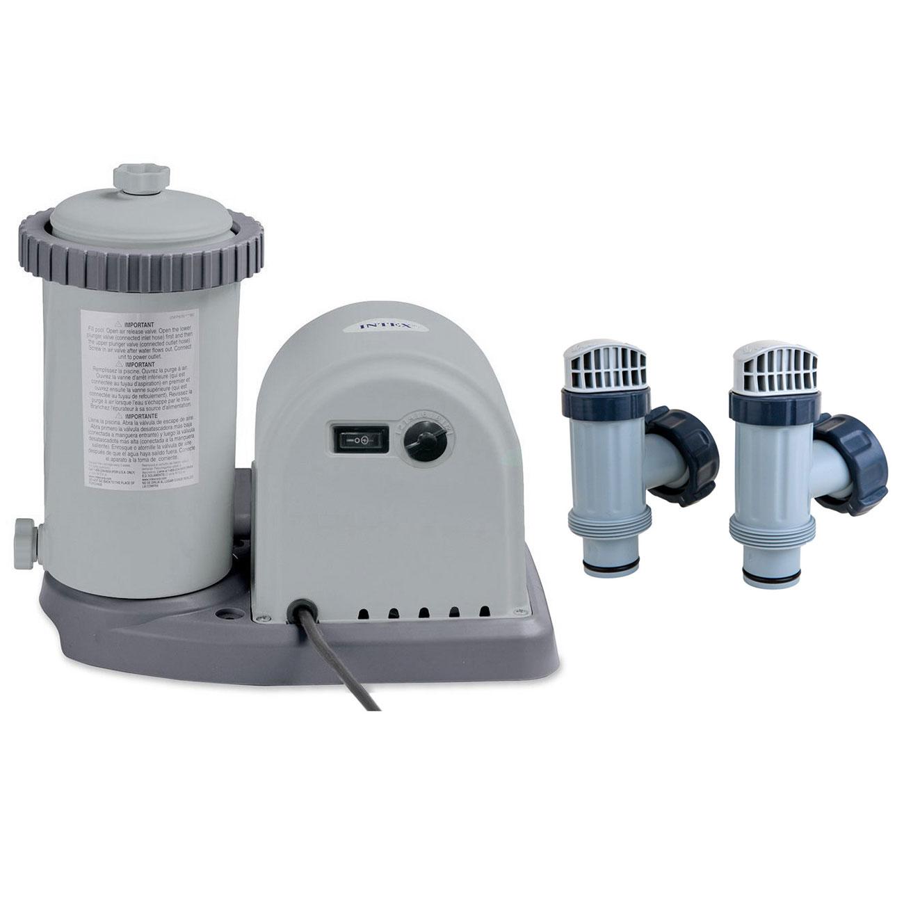 Intex 1500 Gph Pool Pump Amp Above Ground Pool Plunger Valve
